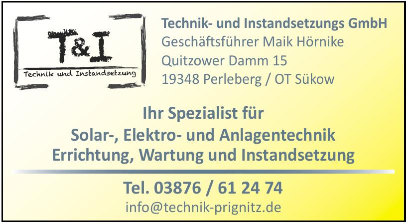 Technik- und Instandsetzungs GmbH