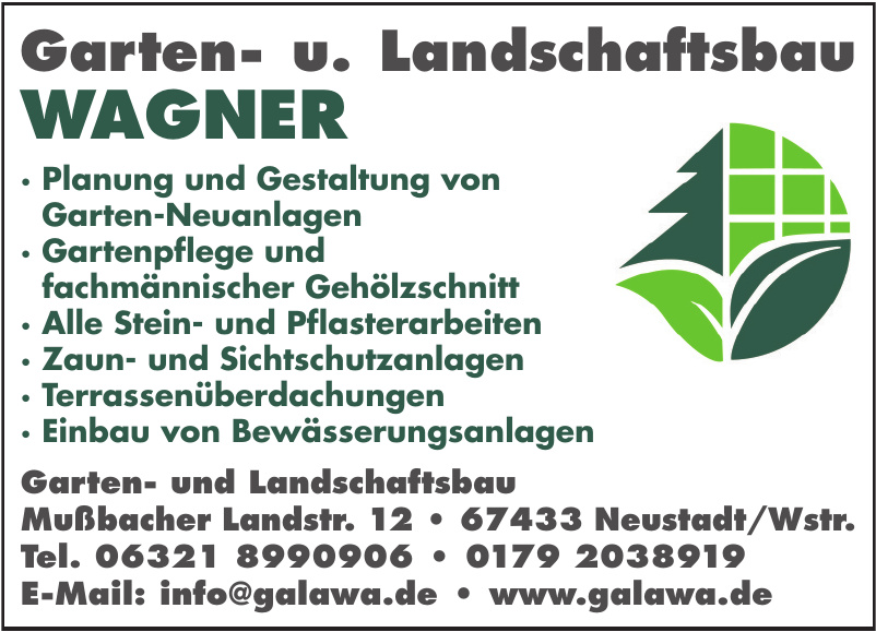 Garten- und Landschaftsbau Wagner