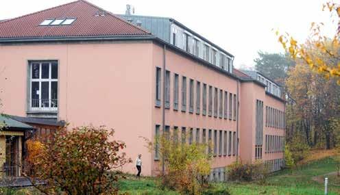 Wenige Schritte von der Havel entfernt, ist in Haus 11 das Brustkrebszentrum zu finden.
