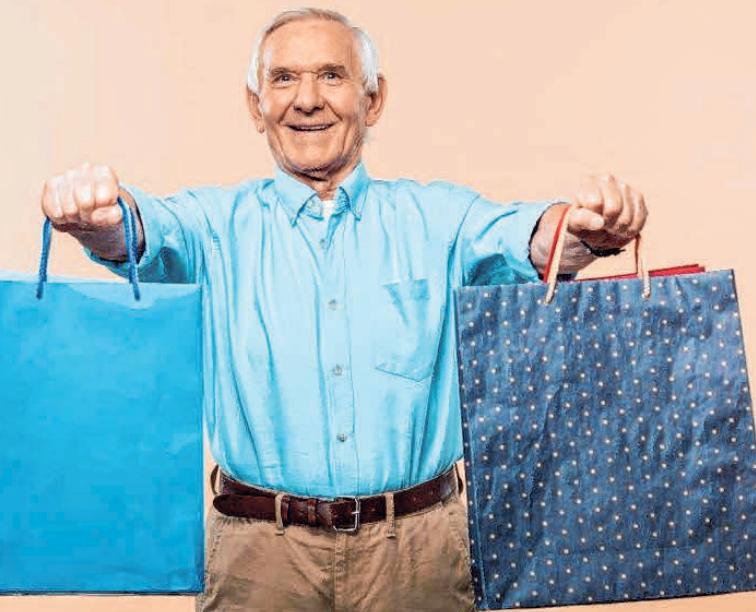 Die zufriedensten Kunden sind im Durchschnitt die Renter. Sie loben vor allem die Freudlichkeit der Berater. FOTO: COLOURBOX
