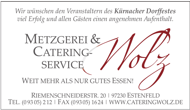 Metzgerei & Catering-Service Wolz