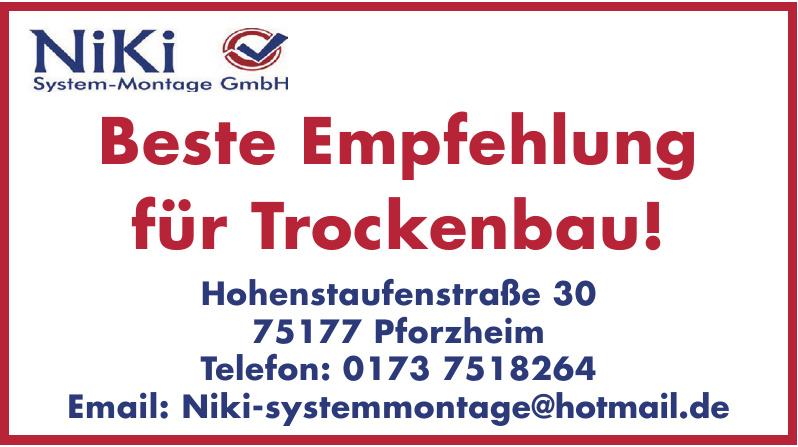 Niki System-montage GmbH