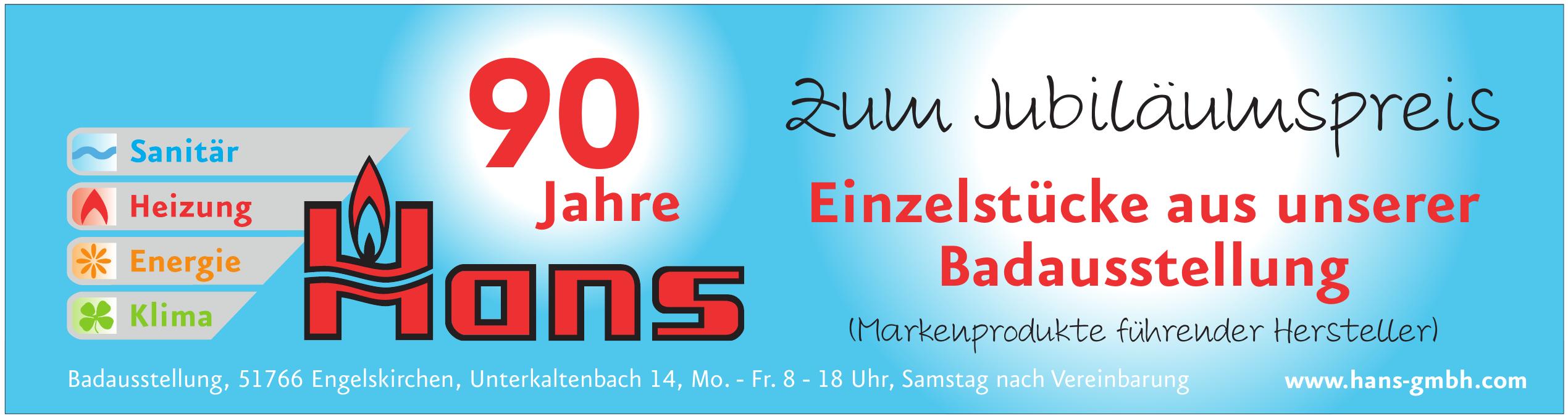 Hans GmbH - Installationen und Heizungsbau