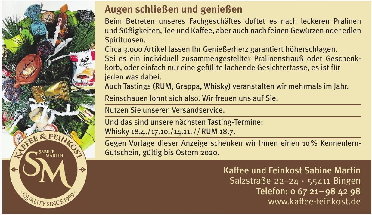 Kaffee und Feinkost Sabine Martin