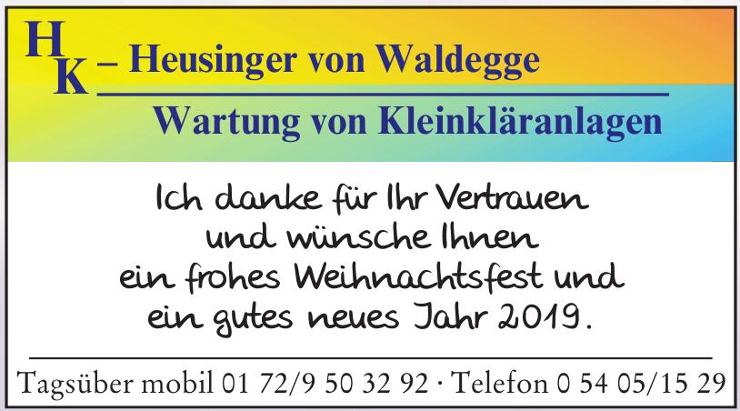 Heusinger von Waldegge