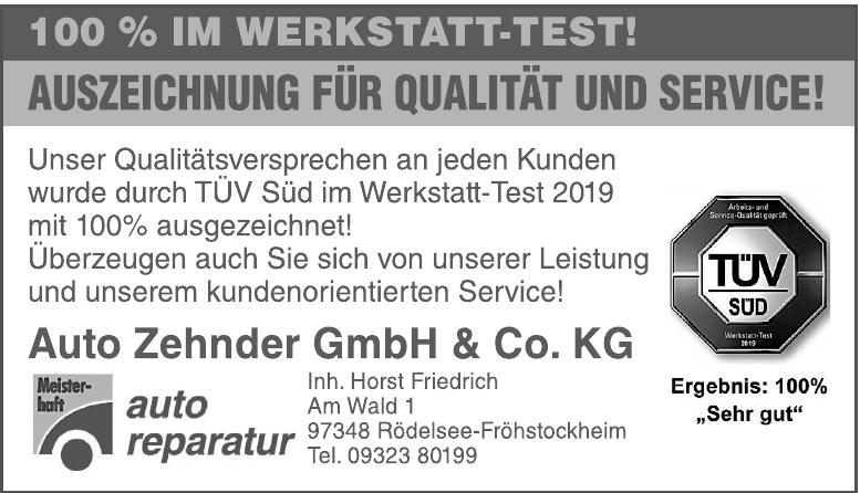 Auto Zehnder GmbH & Co. KG