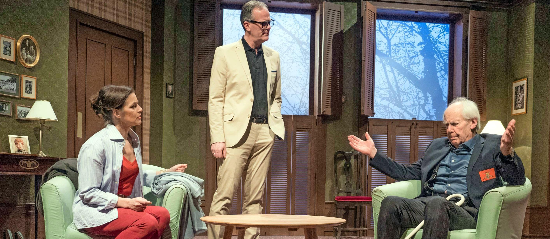"""Die Komödie """"Schon wieder Sonntag"""" eröffnet die 40. Spielzeit der städtischen Theaterreihe am 23. Oktober in der Ballei Neckarsulm. Foto: Helmut Seuffert"""