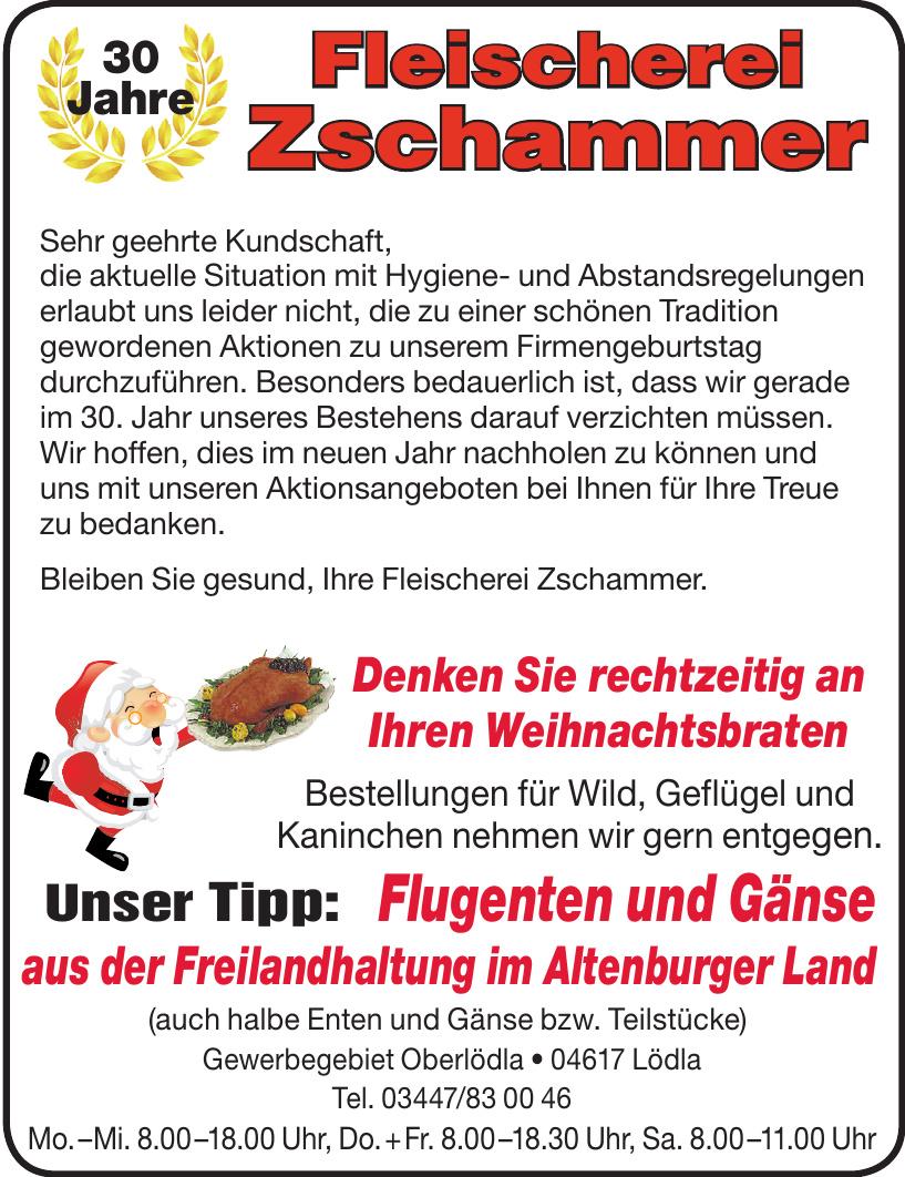 Fleischerei Zschammer