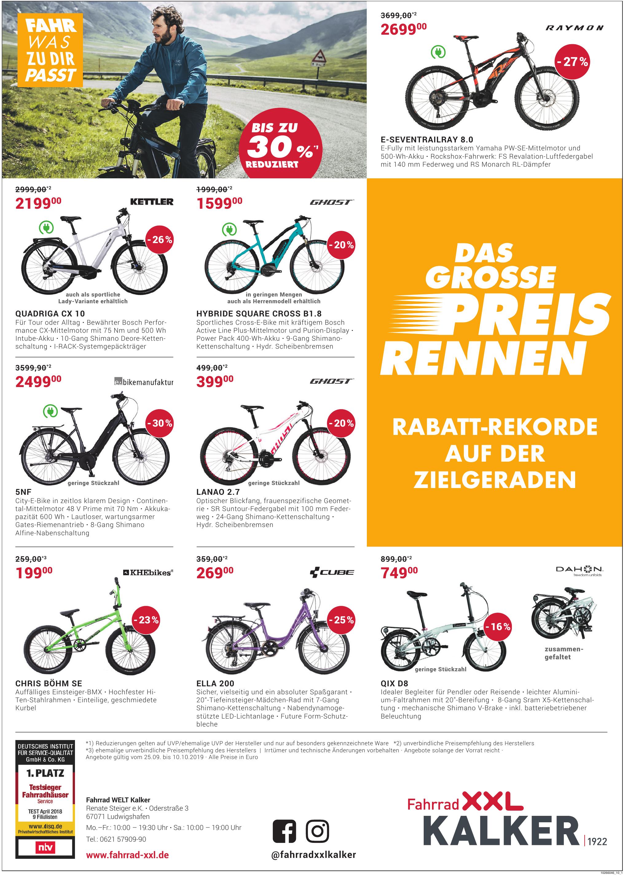 Fahrrad XXL Kalker