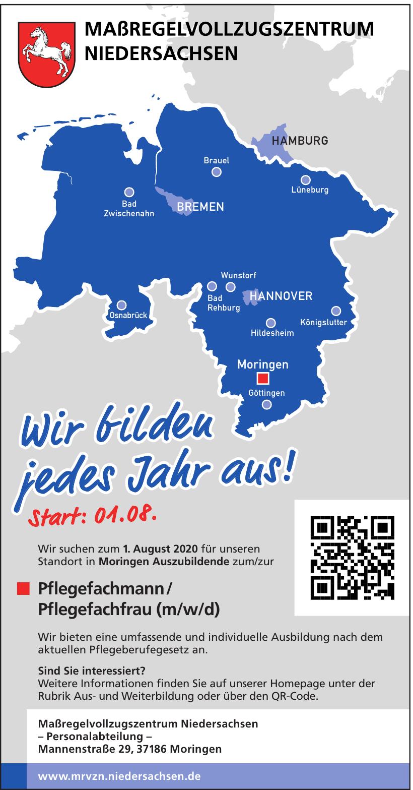 Maßregelvollzugszentrum Niedersachsen - Personalabteilung