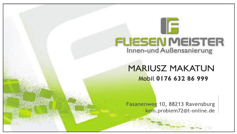 Fliesen Meister - Mariusz Makatun