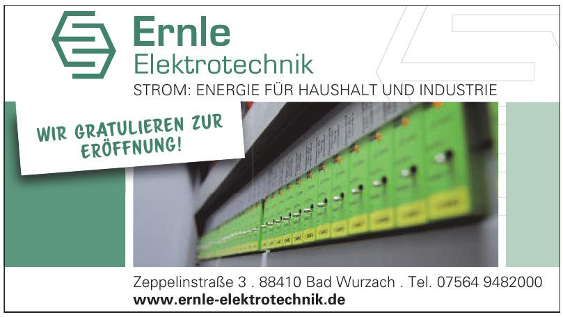 Elektrotechnik Ernle