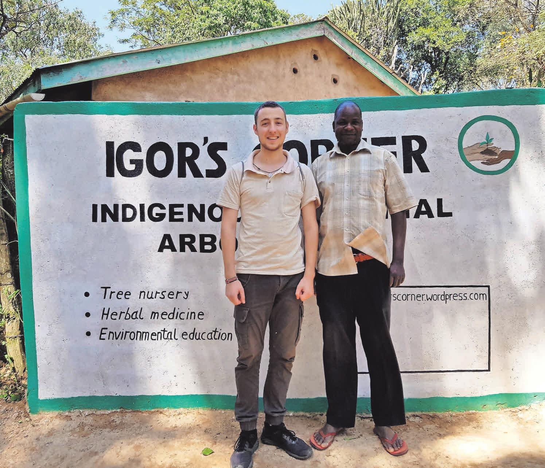 Sonnige Grüße aus Kenia, Martin