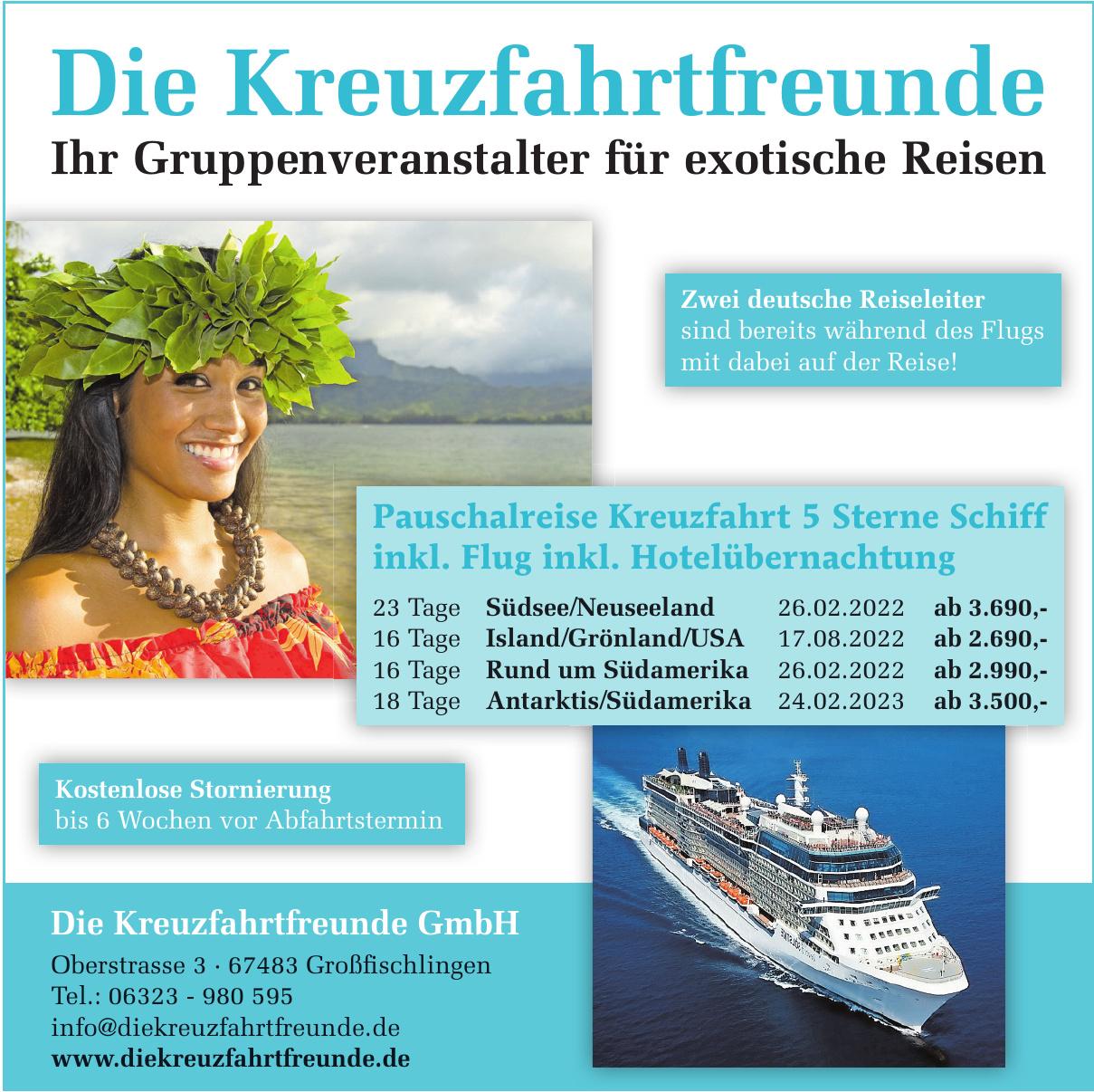 Die Kreuzfahrtfreunde GmbH