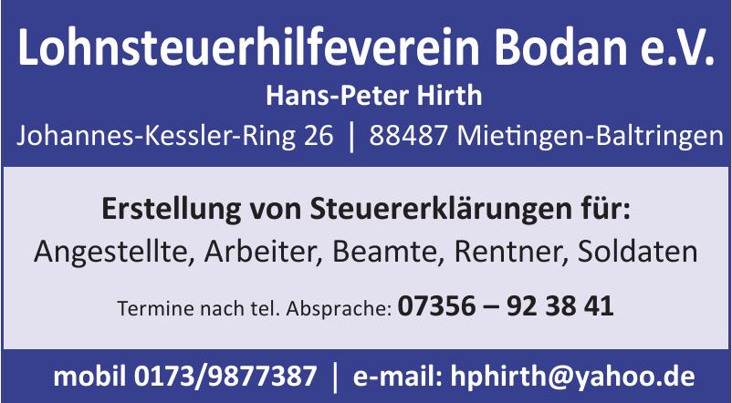 Lohnsteuerhilfeverein Bodan e. V.