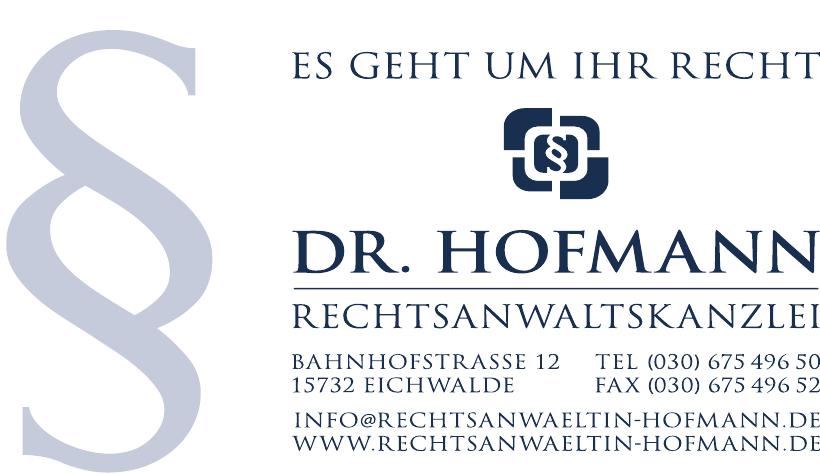 Dr. Hofmann Rechtanwaltskanzlei