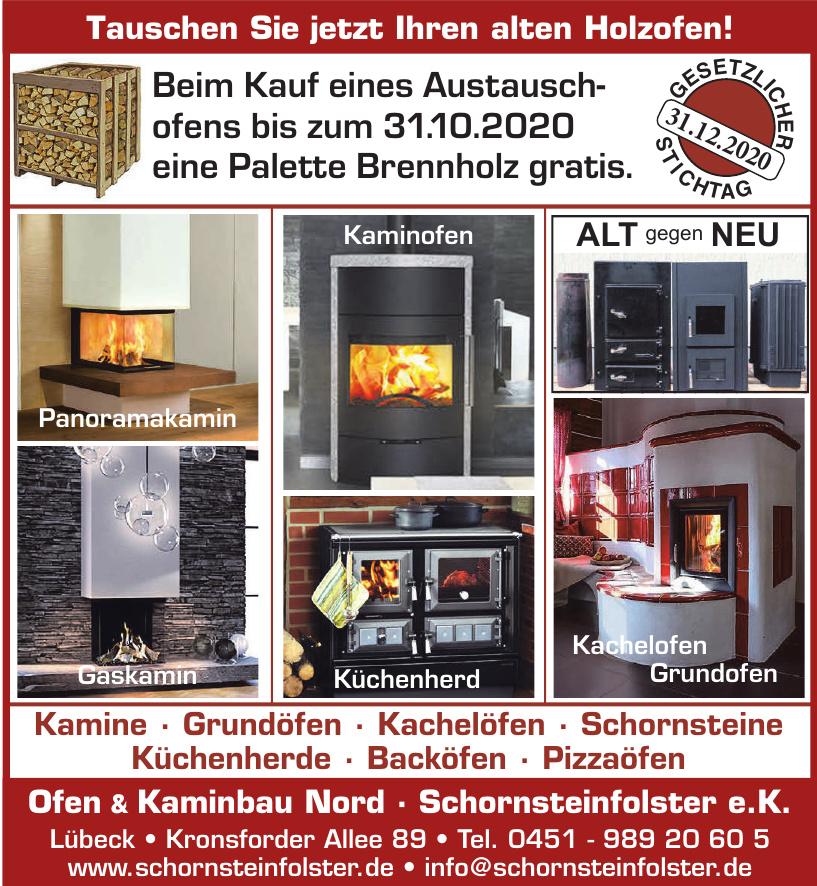 Ofen & Kaminbau Nord Schornsteinfolster e.K.