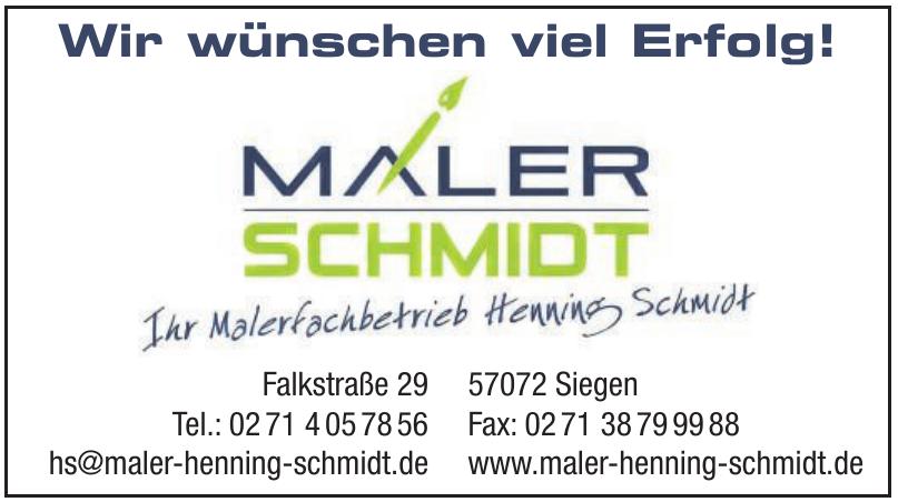 Maler Schmidt