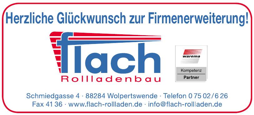 Flach Rollladenbau GmbH