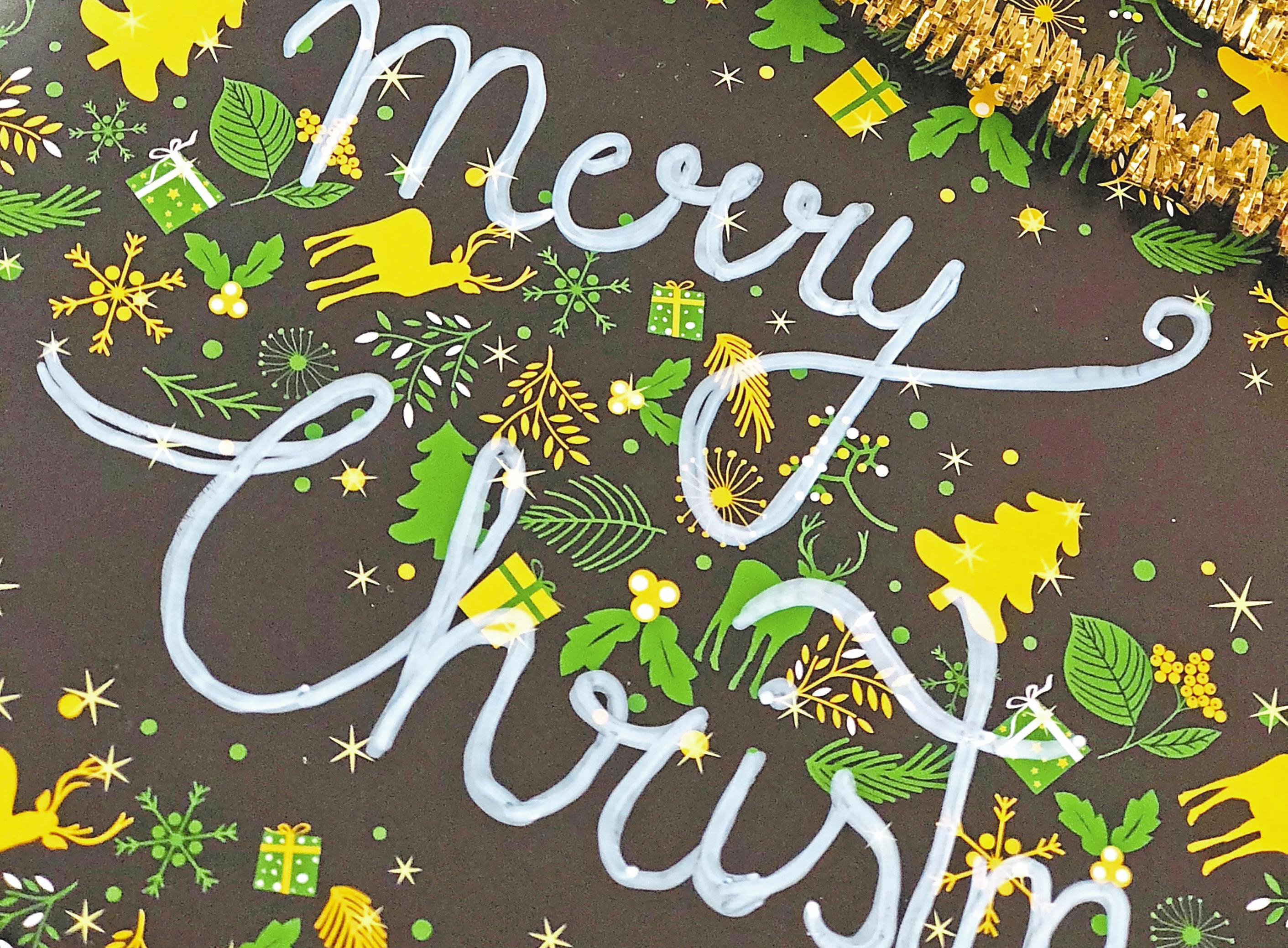 Zu Weihnachten ein echter Hingucker: Auf die Verpackung wollen die Bundesbürger nicht verzichten. Foto: djd/www.planetpaket.de