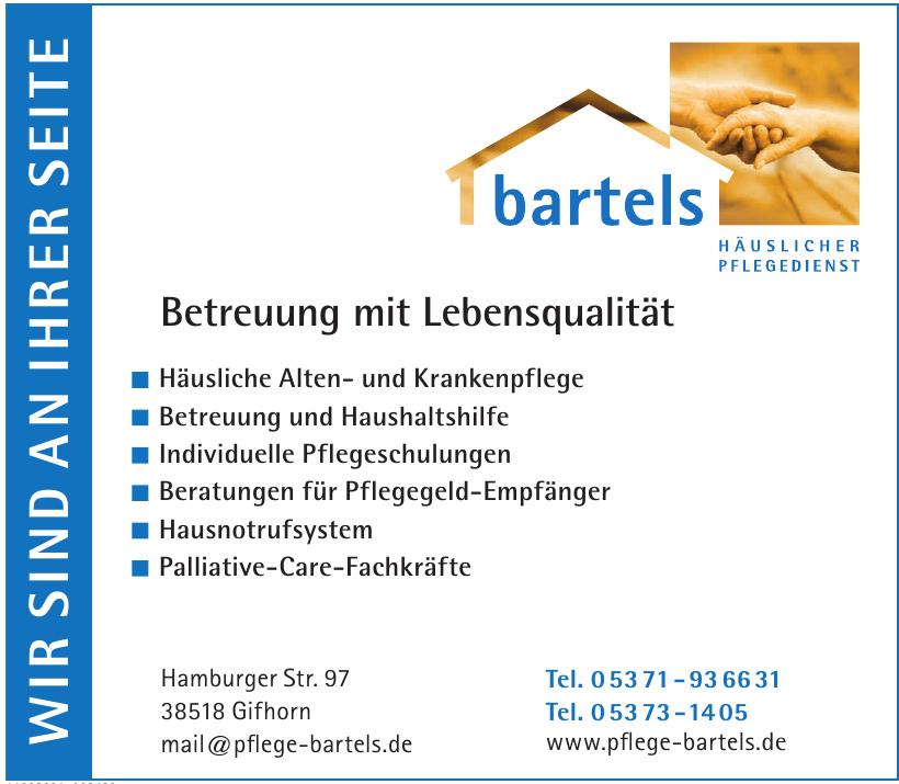 Häuslicher Pflegedienst Bartels