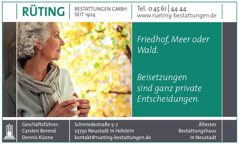 Rüting Bestattungen GmbH