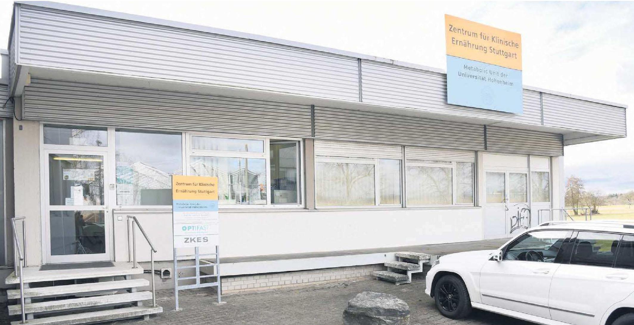 Das Zentrum für Klinische Ernährung in Stuttgart-Plieningen. Foto: Günter Bergmann