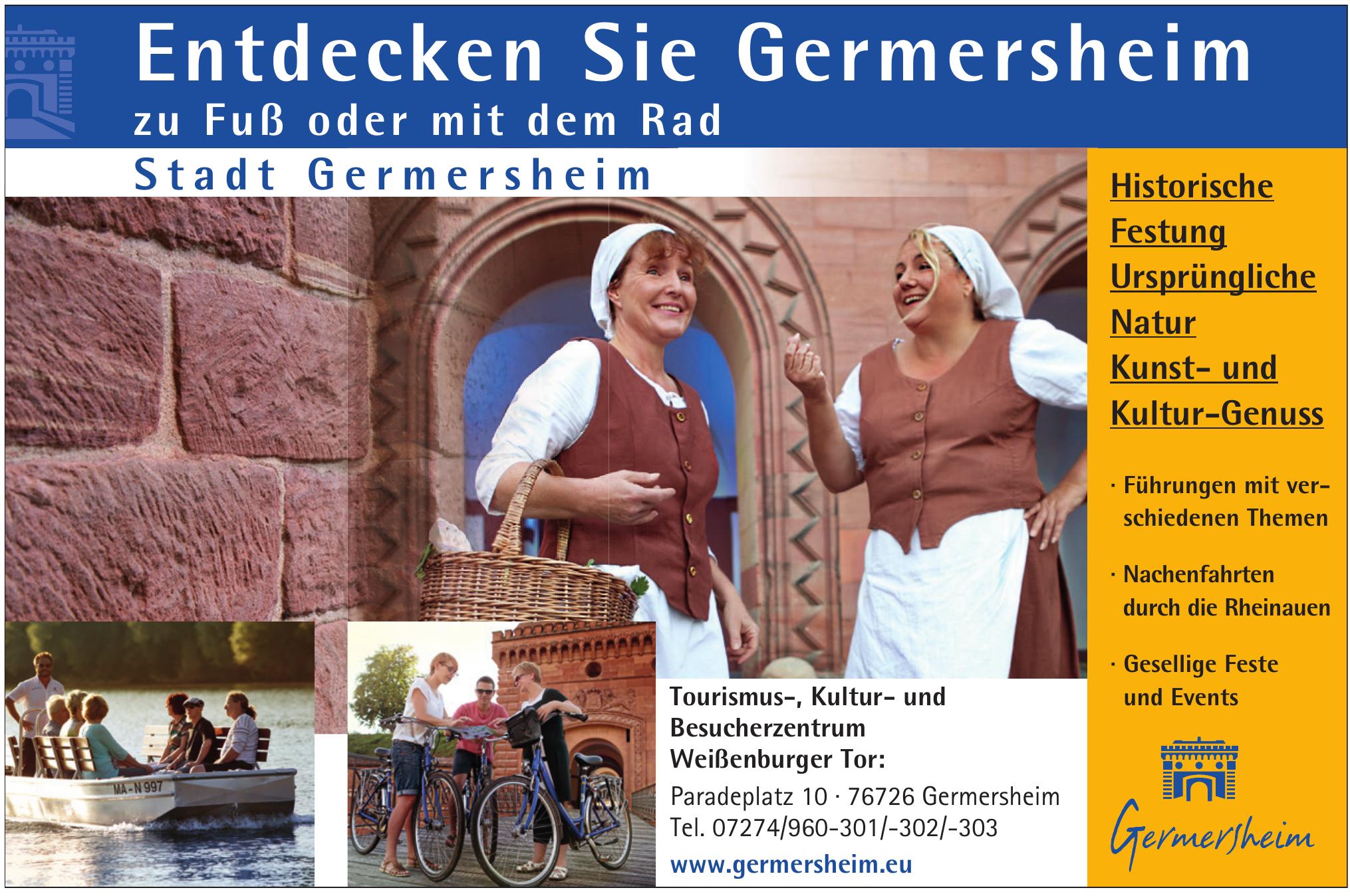 Germersheim - Tourismus-, Kultur- und Besucherzentrum Weißenburger Tor