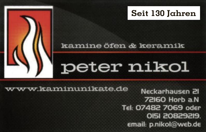 Kamine Öfen und Keramik - Peter Nikol