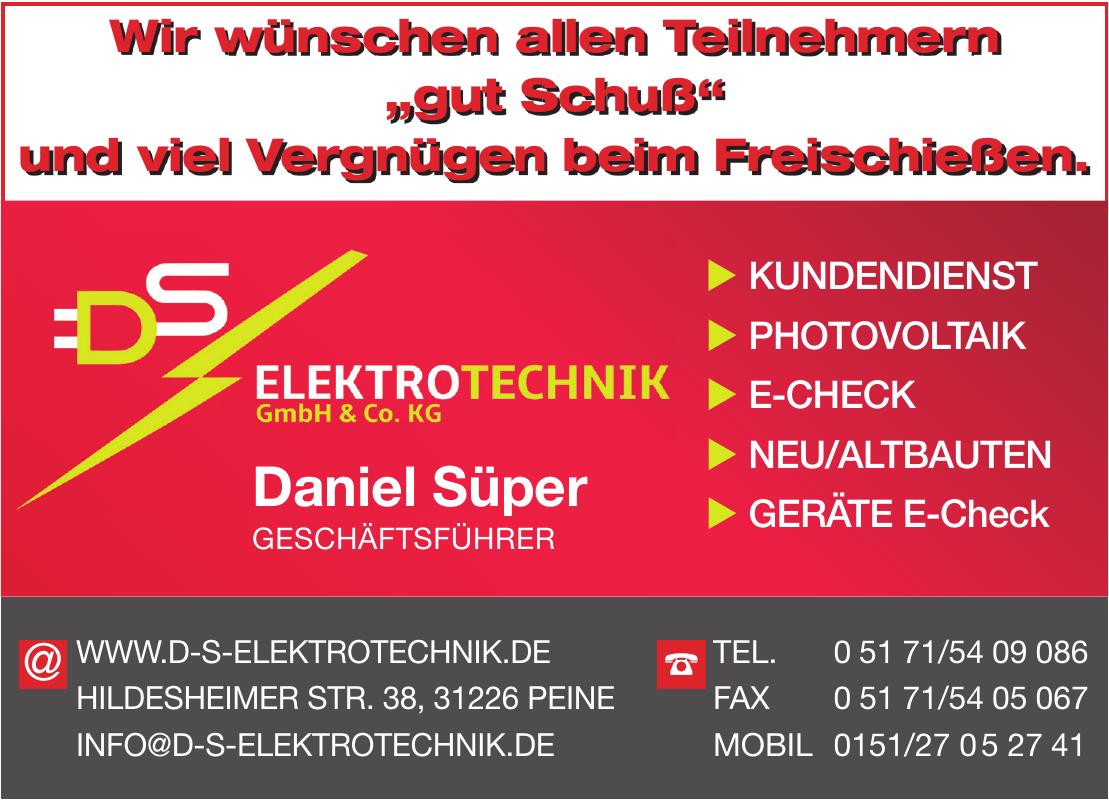 DS Elektrotechnik GmbH & Co. KG