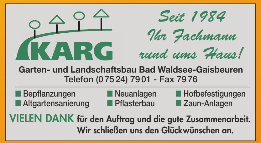 KARG Garten- und Landschaftsbau