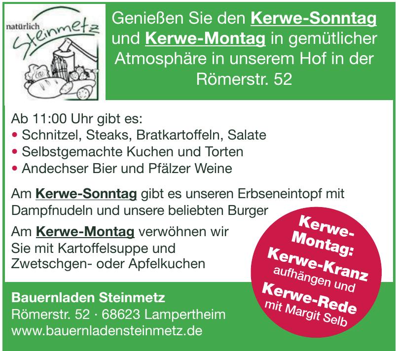 Bauernladen Steinmetz