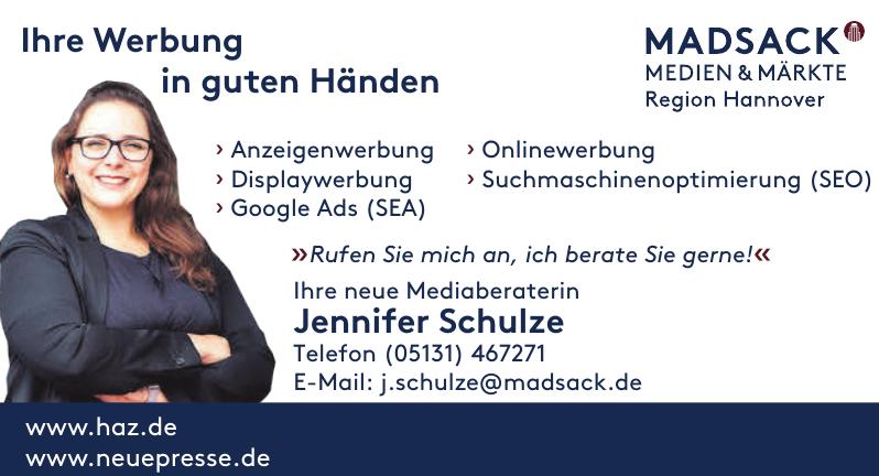 Mediaberaterin Jennifer Schulze