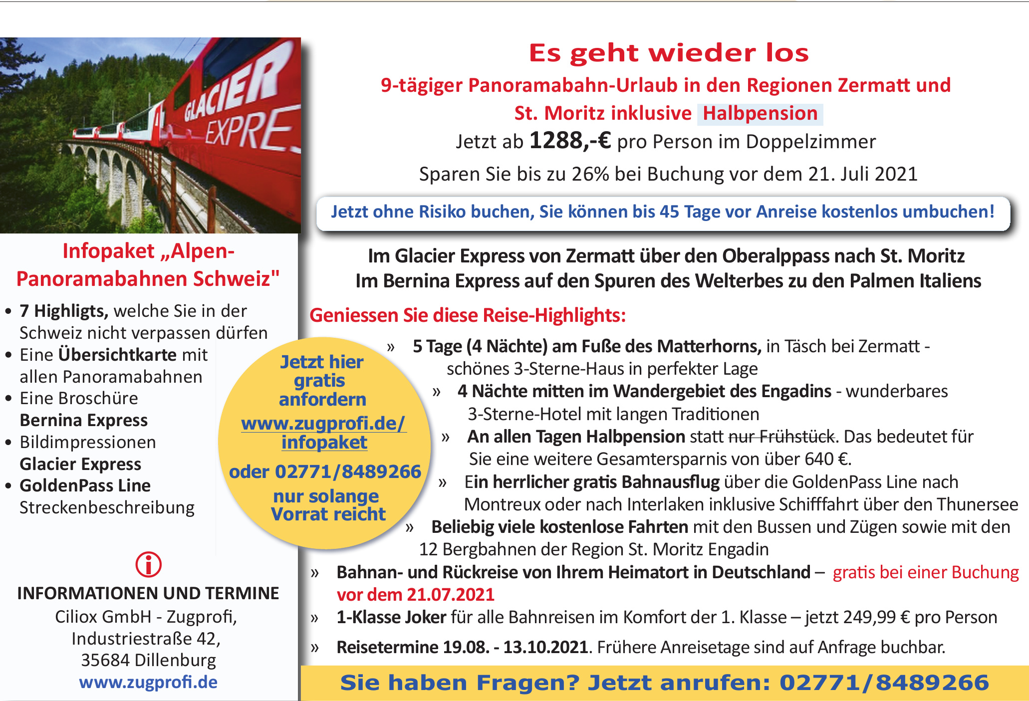 Ciliox GmbH - Zugprofi