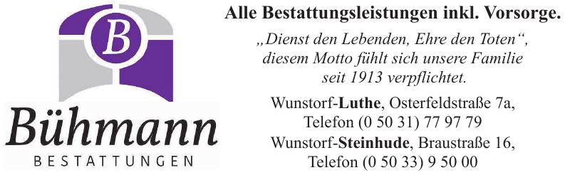 Bestattungen Bühmann