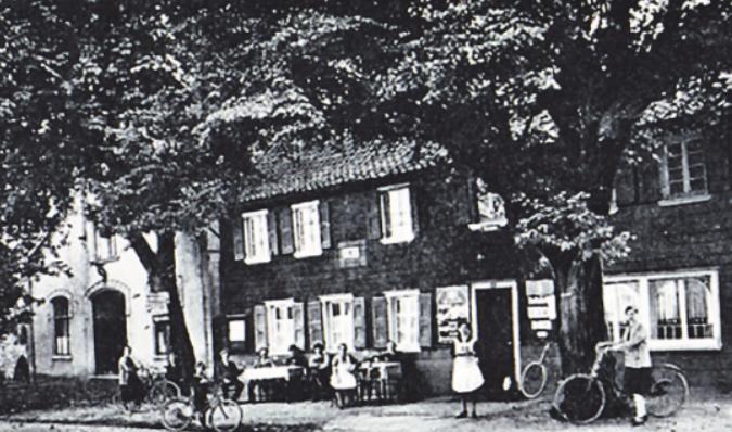 """""""Zur Post"""" in Schildgen: das Versteck von Lowe. Bild: zVg"""