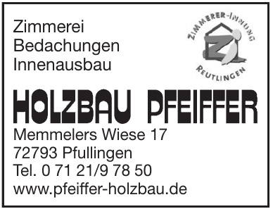 Holzbau Pfeiffer