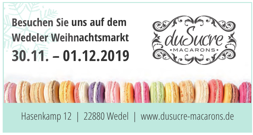 duSucre Macarons
