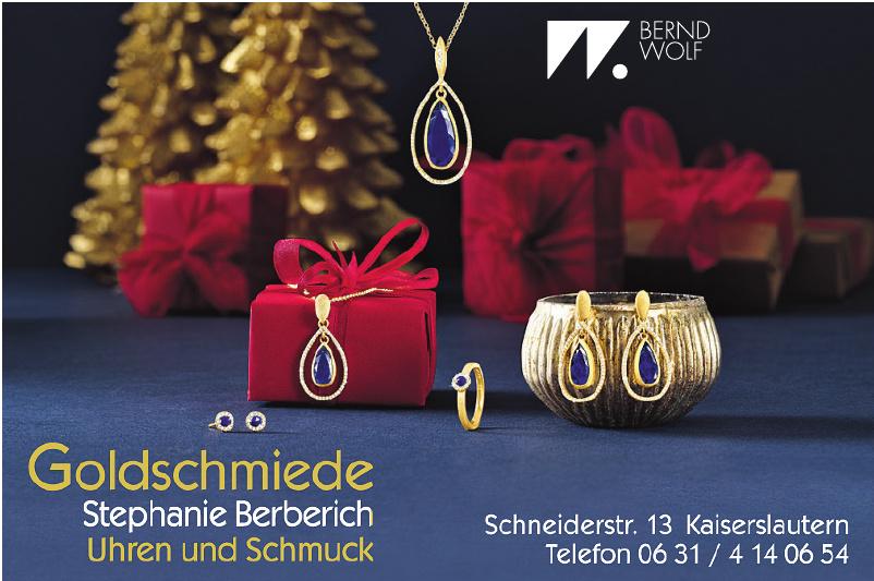 Goldschmiede Stephanie Berberich Uhren und Schmuck