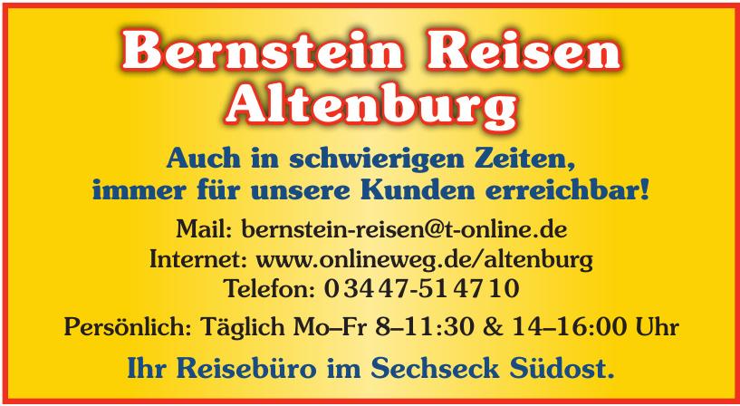 Bernstein Reisen Altenburg