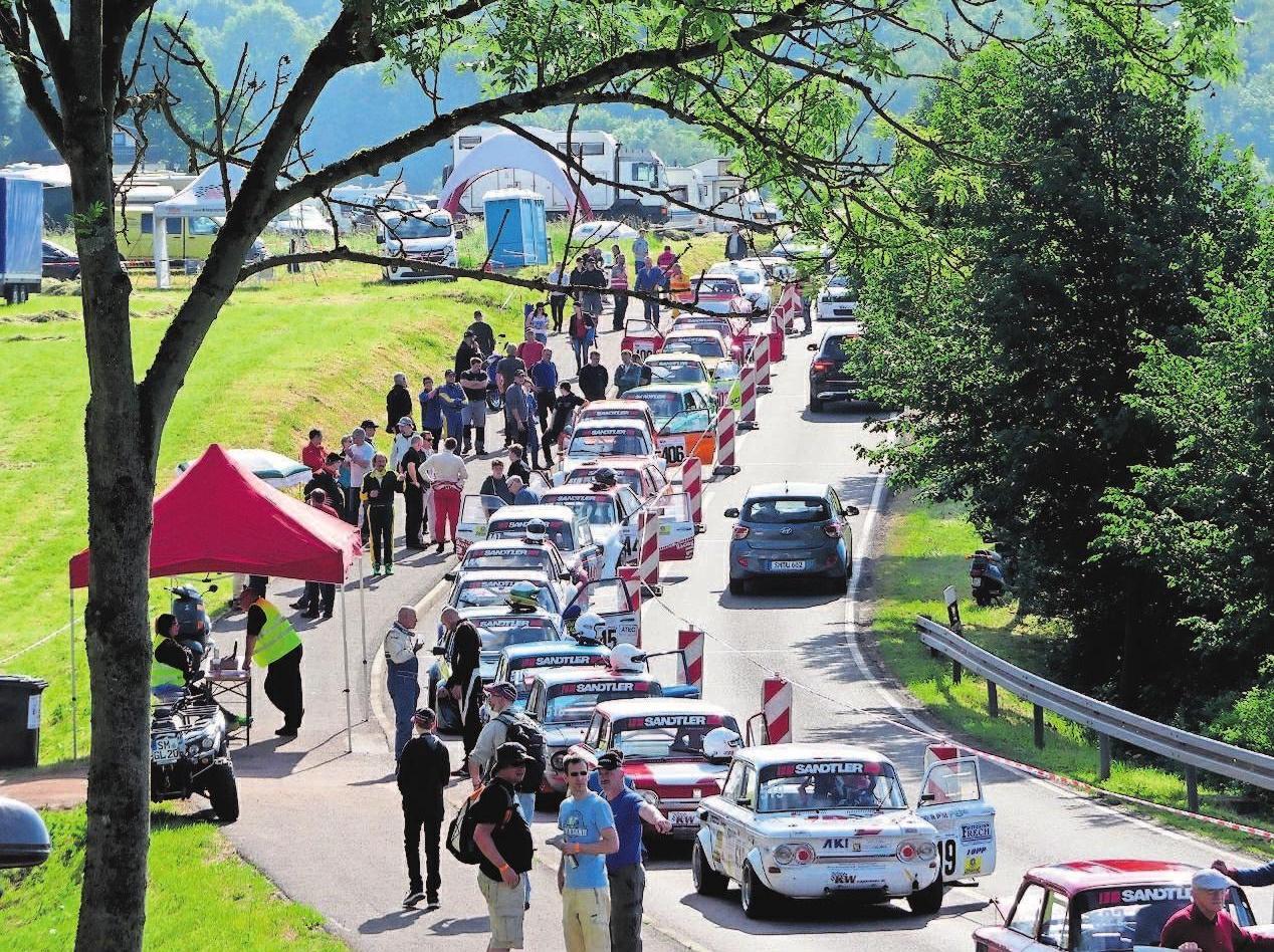 Am dritten Juni-Wochenende lockt das Glasbachrennen nach Steinbach. Fotos: Verein