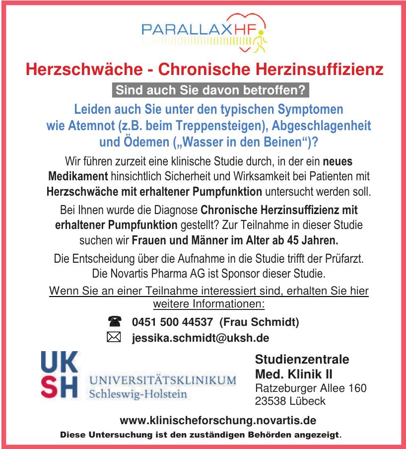 UKSH Universitätsklinikum Schleswig-Holstein - Studienzentrale Med. Klinik II