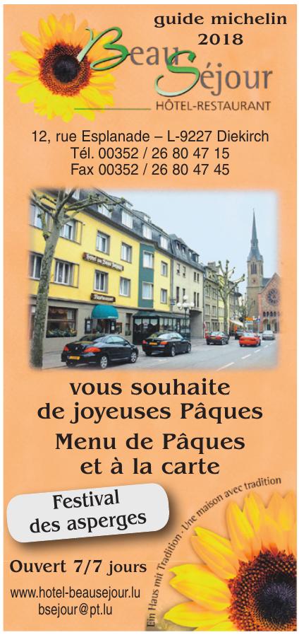 Hôtel-Restaurant-Bar Beau Séjour