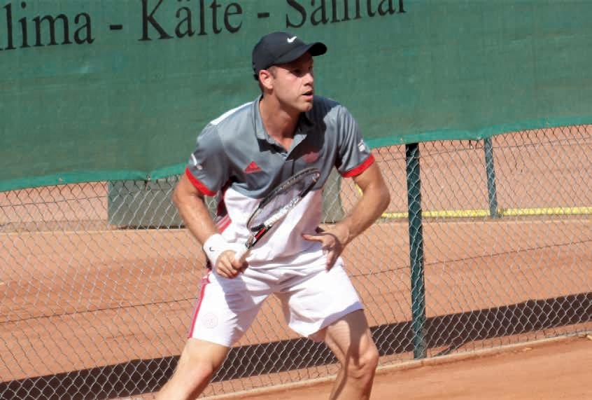 Julian Reister, Ex ATP Nr. 83, hat es immer noch drauf. Foto M. Raab