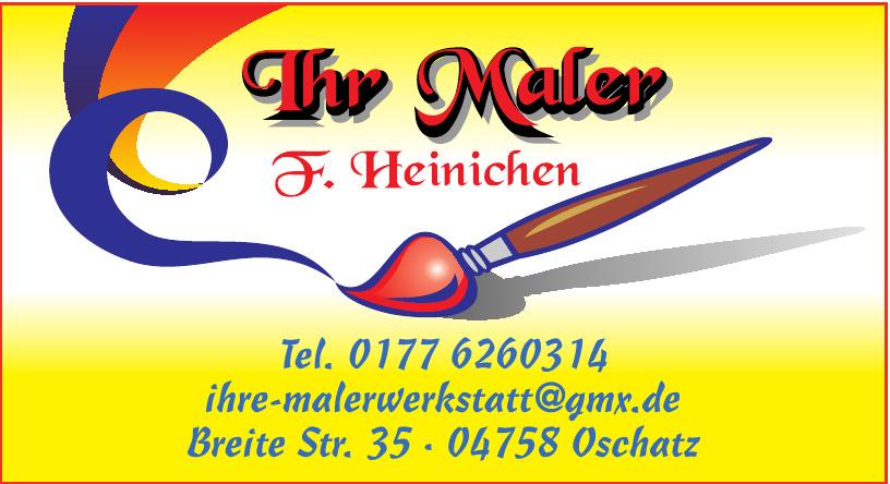 Maler F. Heinichen