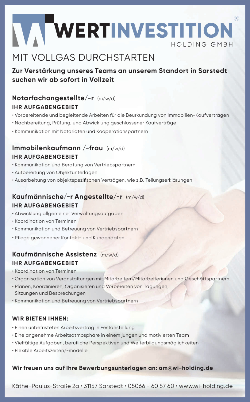WI WertInvestition Holding GmbH
