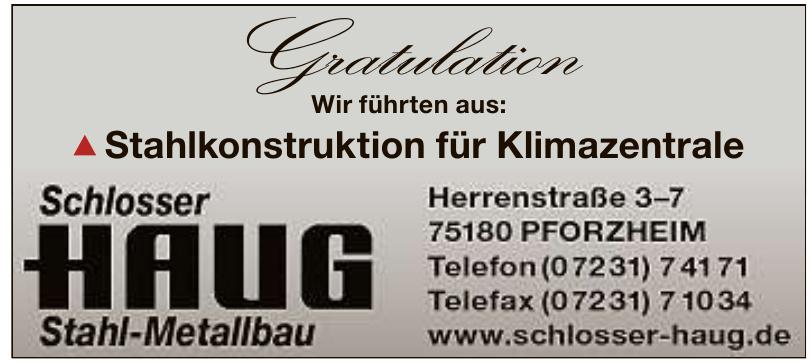 Schlosser Haug