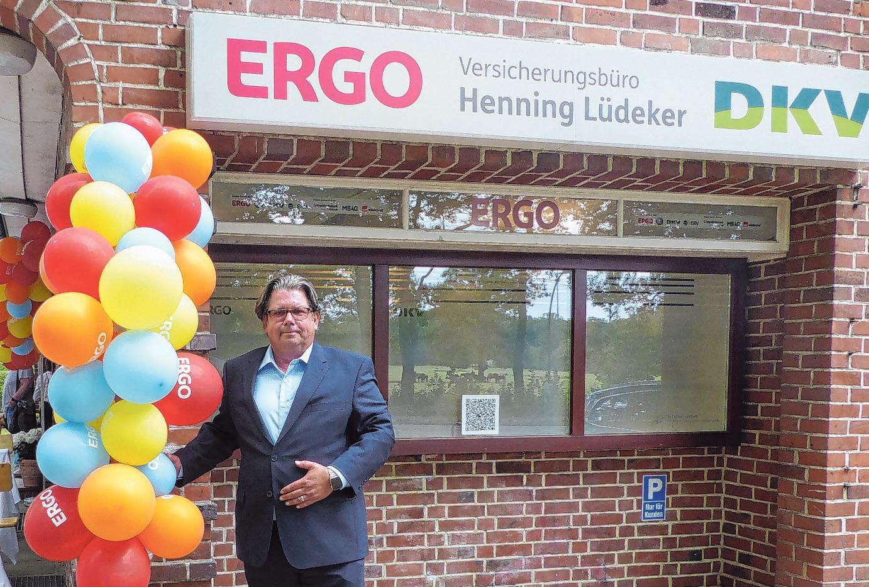Rundumberatung bietet Henning Lüdeker in seiner Lemsahler Ergo/DKV-Agentur