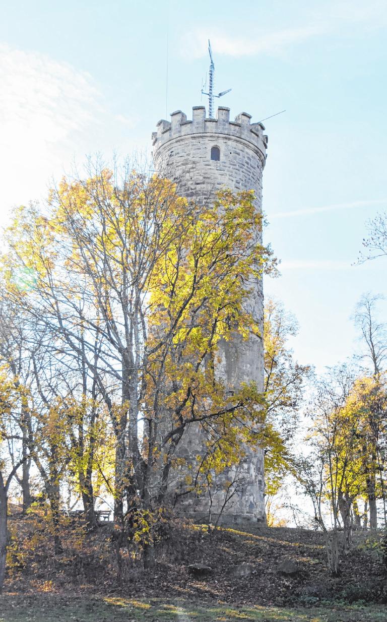 Der Wallburgturm Eltmanns Wahrzeichen.       FOTO: REITWIESNER