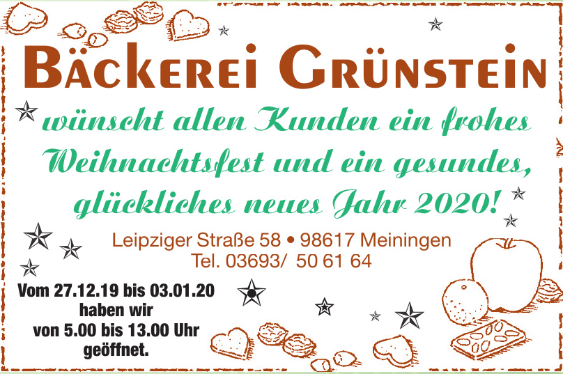 Bäckerei Grünstein